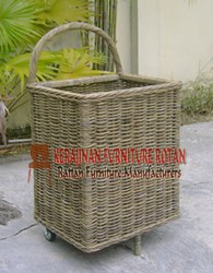 rotan sintesis kerajinan furniture