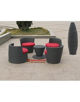 Kursi Tamu Rotan Furniture Minimalis KFR-AR-006
