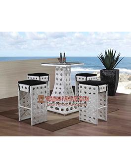 meja makan minimalis kerajinan