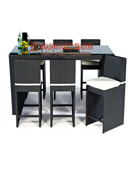 Anyaman Kursi Rotan Kerajinan Furniture KFR-AR-118