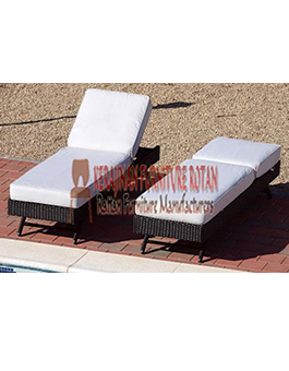Kerajinan Mebel Furniture Lounger Rotan KFR-AR-144