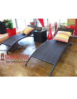 Pusat Mebel Murah Lounger Rotan Furniture KFR-AR-139