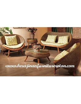 Meja Sofa Minimalis Furniture Rotan KFR-AR-190