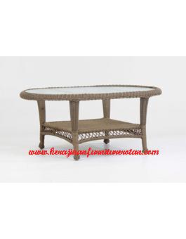 Jual Meja Tamu Kerajinan Furniture Rotan KFR-AR-203