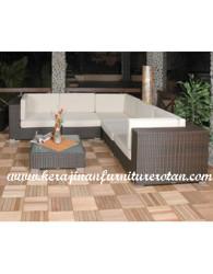 sofa rotan sintetis rotan kerajinan furniture