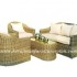 Furniture rotan | Set kursi tamu minimalis anyaman rotan