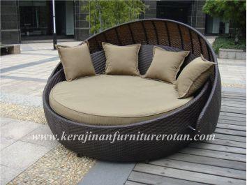 Kursi rotan minimalis : kursi sofa santai KFR-KTR-210