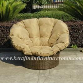 Kursi rotan minimalis : kursi sofa santai KFR-KTR-211