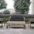 Kursi rotan dengan gaya minimalis, kerajinan furniture KFR-KTR-215