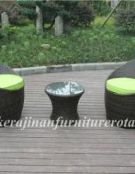 furniture rotan berjenis kursi teras