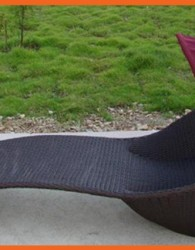 Furniture rotan berjenis kursi santai