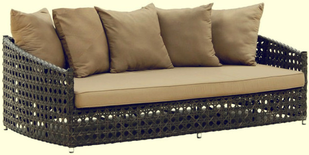 Kerajinan rotan sofa minimalis