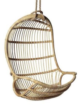 Ayunan rotan gantung | Furniture rotan minimalis KFR-KTR-80