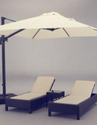Sofa santai rotan gaya minimalis jepara