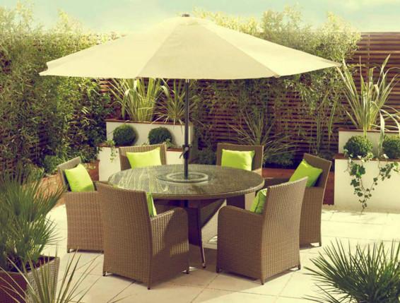 Furniture rotan minimalis jepara bergaya moderen