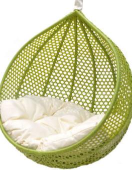 Sofa minimalis rotan yang ramah lingkungan