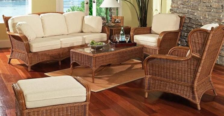 Set kursi tamu rotan untuk rumah tipe minimalis 2016 harga murah