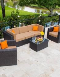 Furniture Kursi Sofa Rotan Sintetis
