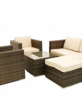 Model Kursi Sofa Rotan Taman