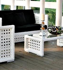 Pembuat Furniture Kursi Sofa Rotan Sintetis Kerajinan Furniture Rotan