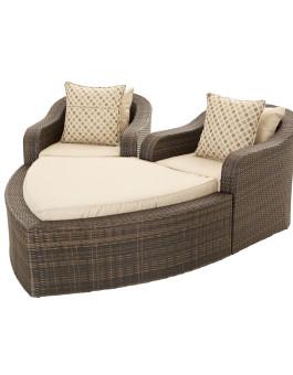 Kerajinan Furniture Sofa Rotan Taman Pantai