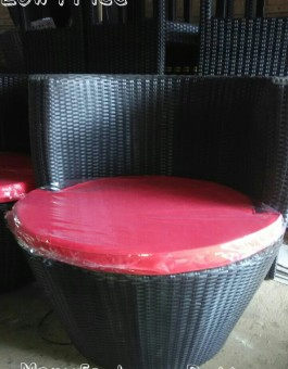 Sofa Kursi Mebel rotan Buat Hotel Eksport