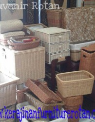 Jual Souvenir Furniture Rotan