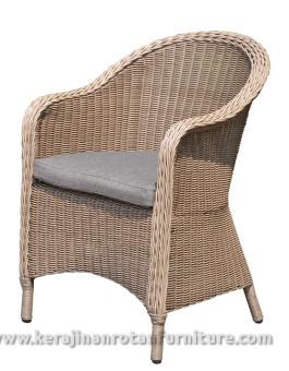 Kursi tamu furniture rotan minimalis busa