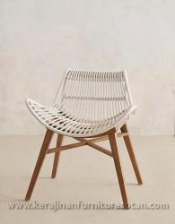Kursi kafe furniture rotan minimalis