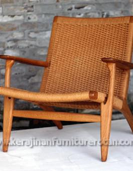 Kursi furniture rotan minimalis santai klasik