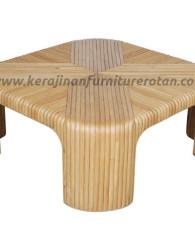 Maja tamu rotan furniture rotan meja minimalis