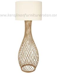 Lampu rotan jaring minimalis modern furniture rotan modern