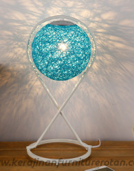 Lampu meja rotan modern furniture lampu meja rotan minimalis