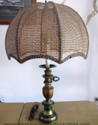 Furniture rotan export lamu meja rotan antik