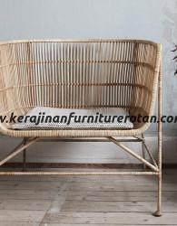 Kursi tamu minimalis santai furniture rotan export elegan