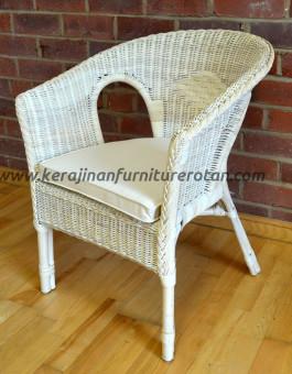 Kursi teras minimalis sofa putih furniture rotan minmalis export