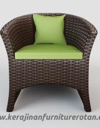 Bangku teras rotan minimalis sofa rotan export