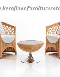 Set kursi teras rotan export minimalis furniture rotan minimalis terbaru
