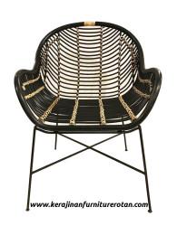 Kursi rotan minimalis modern export furniture rotan modern