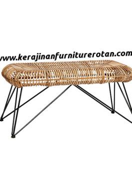 Meja teras rotan minimalis export furniture rotan minimalis serbaguna
