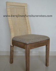 Kursi makan rotan sintetis export furniture rotan minimalis