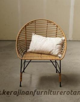 Kursi tamu rotan minimalis modern export furniture rotan santai