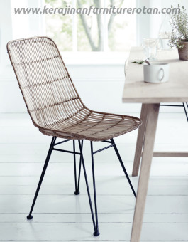 Kursi rotan cafe export furniture rotan minimalis