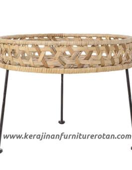 Meja hias rotan export furniture rotan minimalis