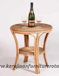 Meja teras rotan export mini furniture rotan jepara