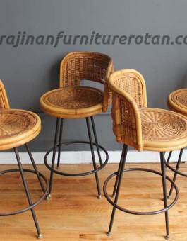 Kursi kafe rotan export furniture rotan minimalis
