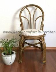 Kursi rotan vintage export furniture rotan retro klasik