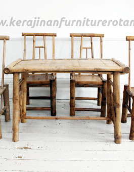 Kursi tamu rotan export furniture rotan bambu