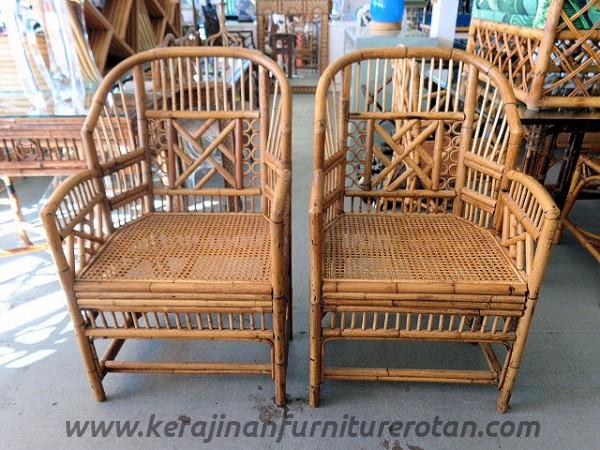 Kursi tamu rotan klasik export furniture rotan retro