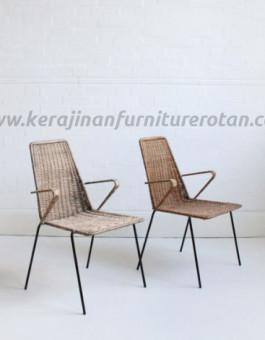 Kursi teras modern rotan furniture rotan minimalis